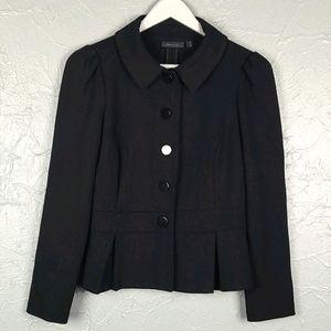SEMANTIKS Black Stretch Blazer Jacket